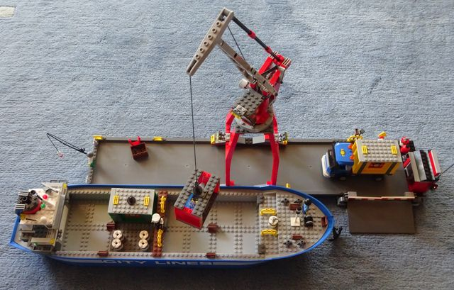 Bausatz-Containerhafen