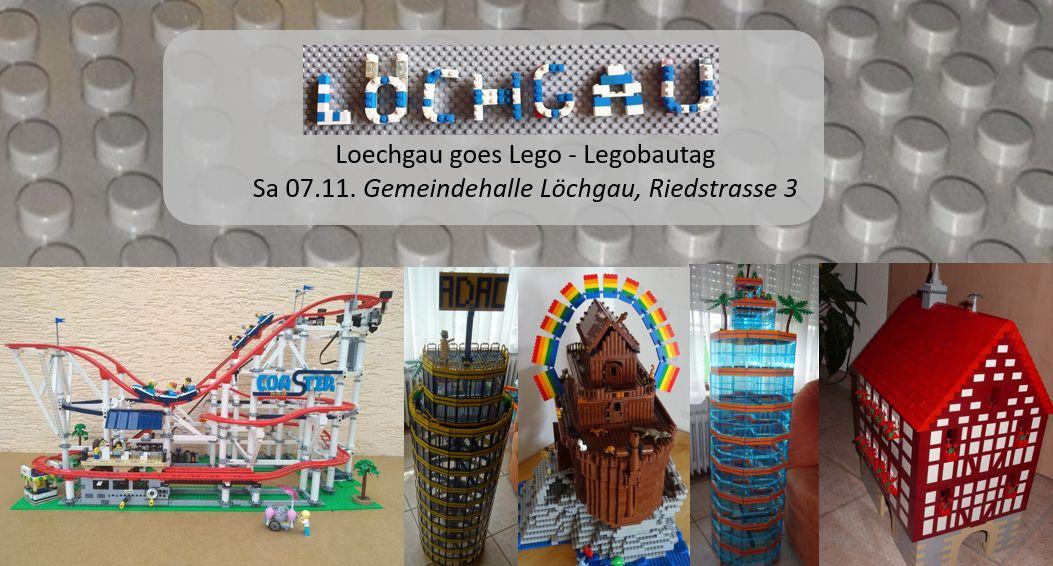 Einladung Loechgau goes Lego - Legobautag